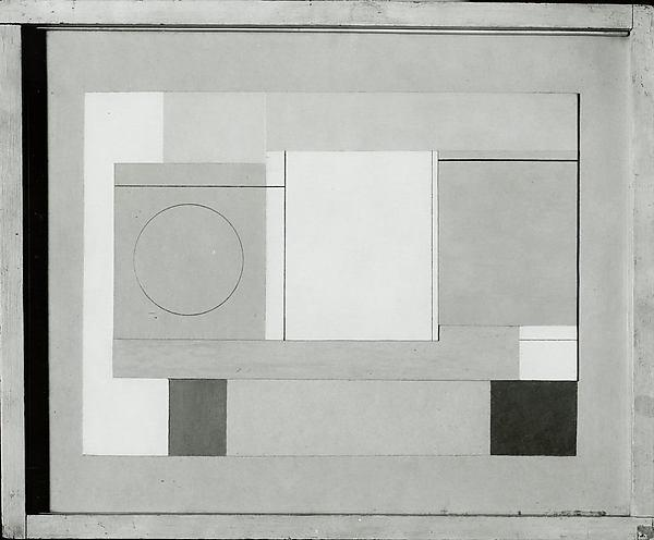 Untitled, Paper by Ben Nicholson (1894-1982, United Kingdom)