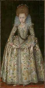 Robert Peake - Princess Elizabeth (1596 1662), Later Queen of Bohemia