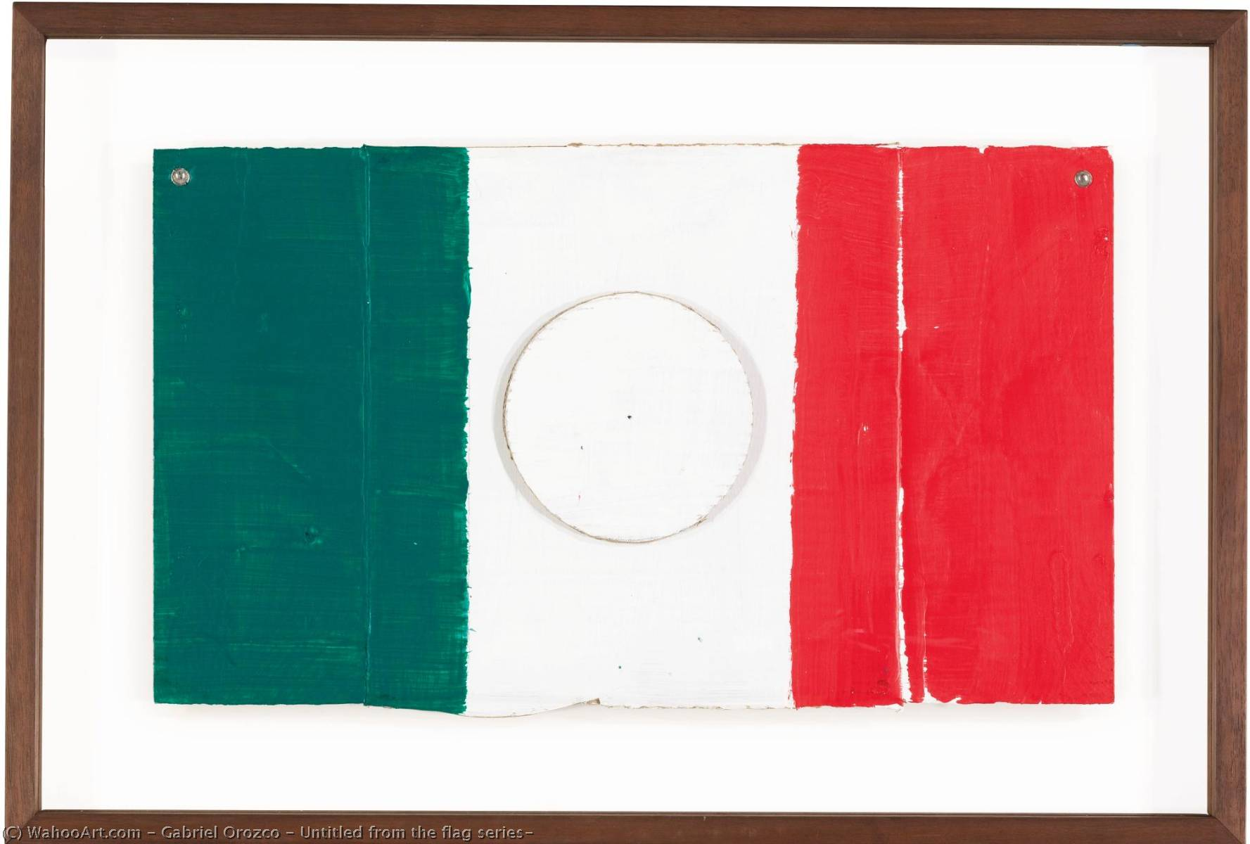 Untitled from the flag series` by Gabriel Orozco |  | WahooArt.com