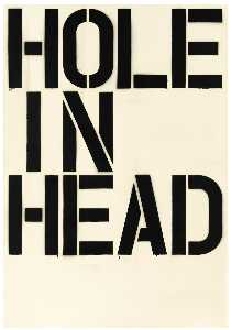 Christopher Wool - Head