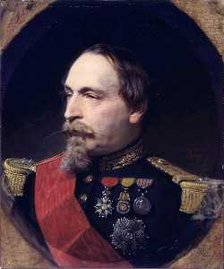 Order Art Reproductions | Portrait of Napoleon III, 1868 by Adolphe Yvon (1817-1893) | WahooArt.com