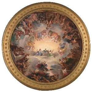 Constantino Brumidi - Study for the Apotheosis of Washington in the Rotunda of the United States Capitol Building
