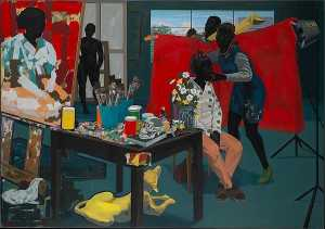 Kerry James Marshall - Untitled (Studio)