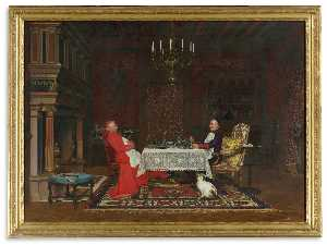 Leo Herrmann - The Cardinal-s Dinner