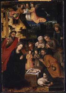 Marcellus Coffermans - The Adoration of the Shepherds