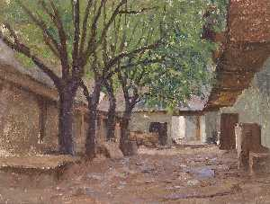 Alfred Zoff - Farmhouses in Klagenfurt