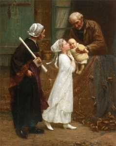 Alfred Guillou - First Communion