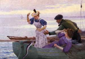Alfred Guillou - Her First Catch