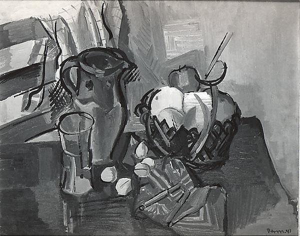 Still Life, Oil On Canvas by Ben Benn (1905-1989)