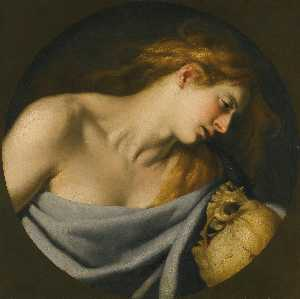 Cesare Fracanzano - The penitent Magdalene