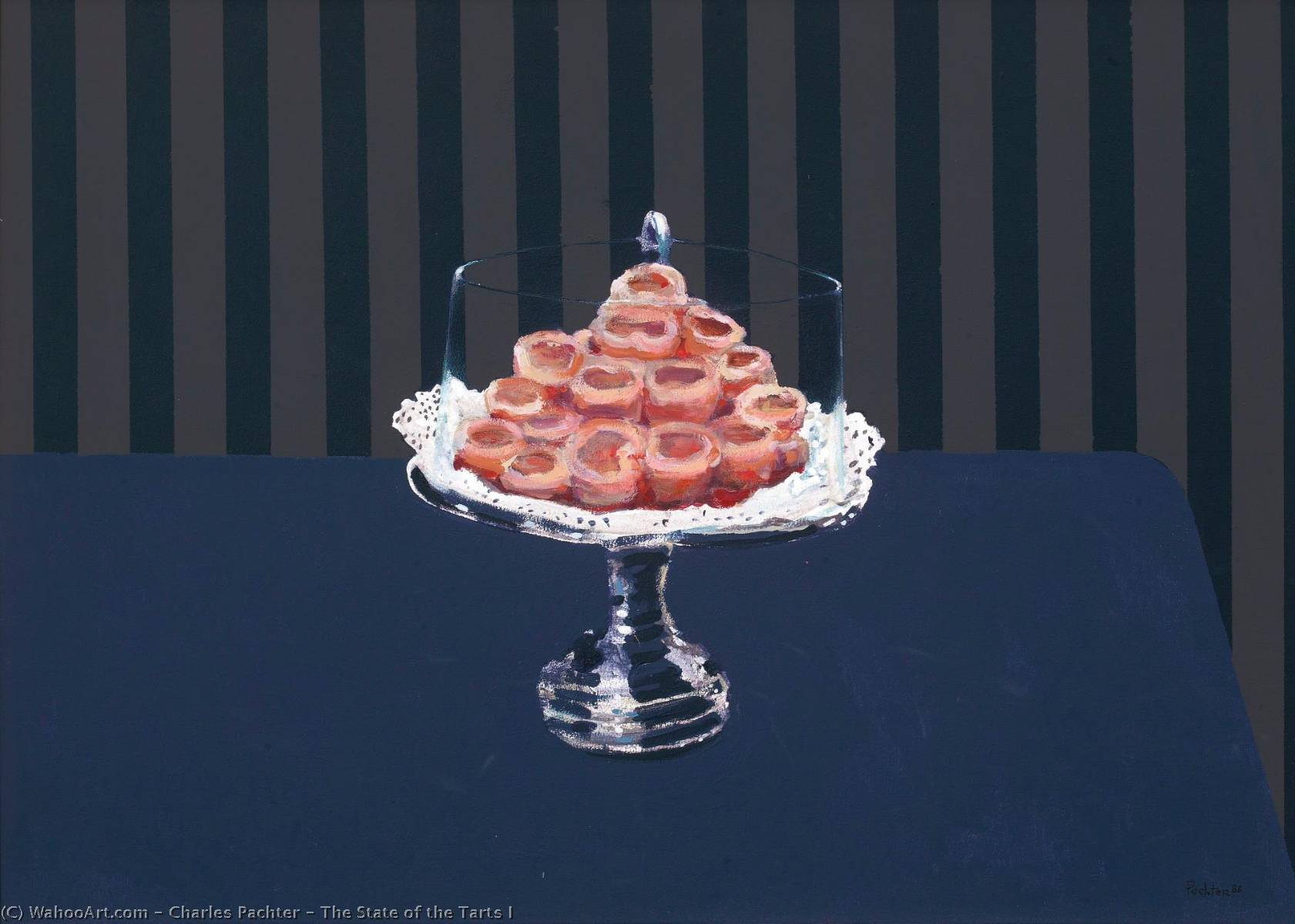 The State of the Tarts I by Charles Pachter | Museum Quality Reproductions | WahooArt.com