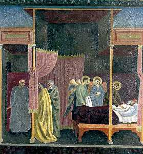 Roger Eliot Fry - The Healing of the Wounded Man of Lerida (copy after The Master of the Saint Cecilia Altarpiece)