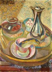 Roger Eliot Fry - Still Life with Coffee Pot (recto)