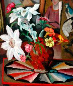 Roger Eliot Fry - Flowers in a Vase