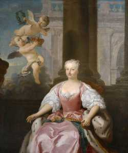 Jacopo Amigoni - Queen Caroline of Ansbach (1683–1737)