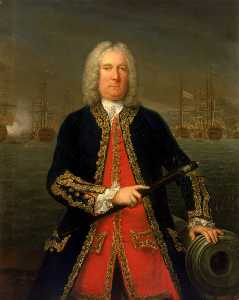 Claude Arnulphy - Admiral Thomas Mathews (1676–1751)