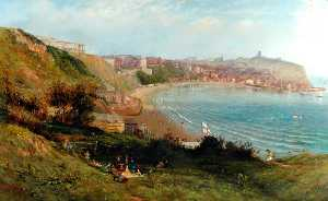 Thomas Harrison Hair - Scarborough from the South