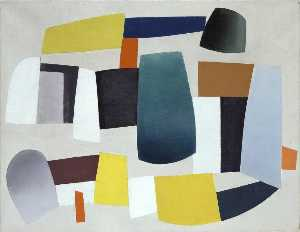 Jean Hélion - Abstract Composition (Composition abstraite)