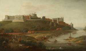 Robert Griffier - Windsor Castle from the River