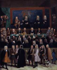 Benjamin Ferrers - The Court of Chancery during the reign of George I