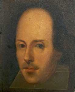 Order Museum Quality Copies | The Napier Portrait of William Shakespeare (1564–1616), 1792 by John Boaden (1787-1854) | WahooArt.com