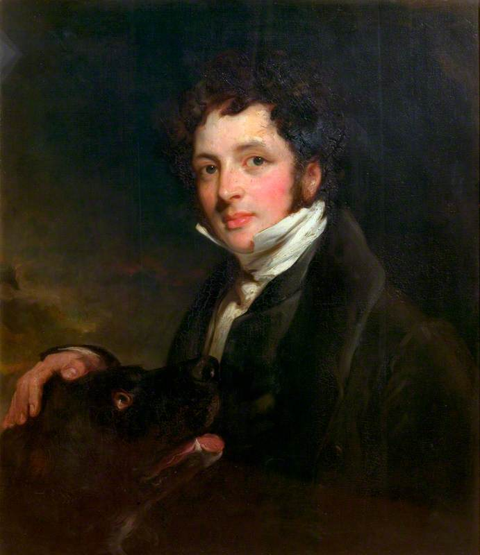 The Reverend Chauncey Hare Townshend (1798–1868), 1828 by John Boaden | Famous Paintings Reproductions | WahooArt.com