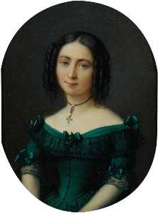 Jacques Eugène Feyen - The Eldest Sister of Mrs Bowes