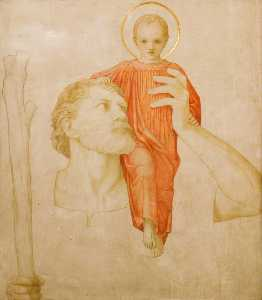 John Dickson Batten - Saint Christopher and the Christ Child