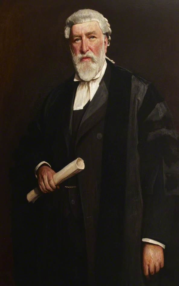 Frank Dethridge, Town Clerk of the Borough of Paddington, 1903 by Sidney Edward Paget (1860-1908) | Paintings Reproductions Sidney Edward Paget | WahooArt.com
