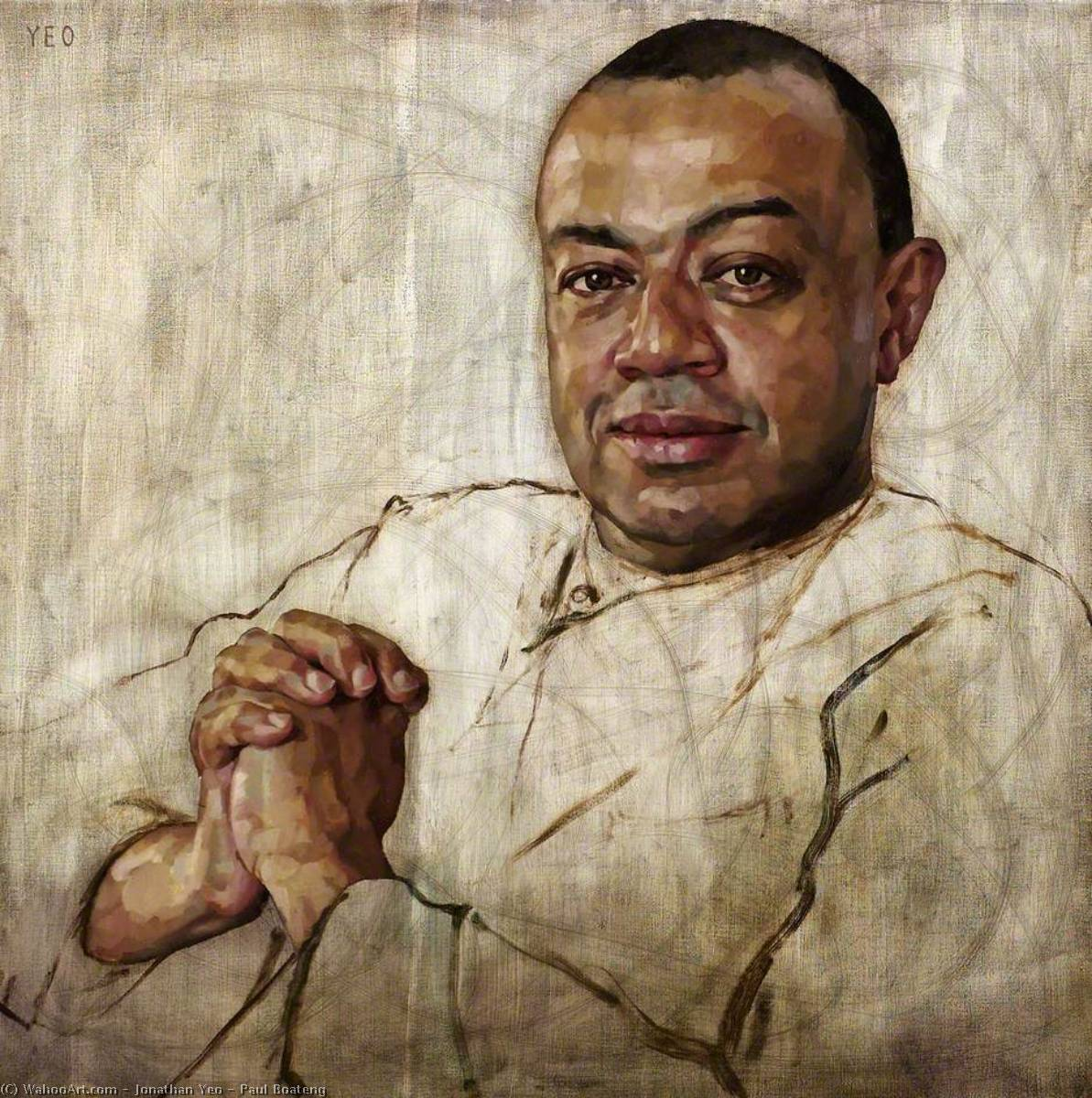 Paul Boateng, 2003 by Jonathan Yeo | Famous Paintings Reproductions | WahooArt.com