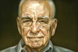 Order Paintings Reproductions | (Keith) Rupert Murdoch, 2006 by Jonathan Yeo | WahooArt.com