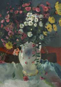 David Gommon - Flowers in a Jug