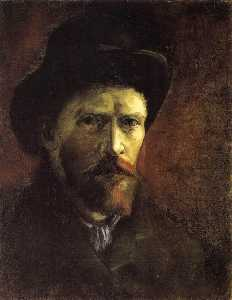 Joos Vincent De Vos - Self Portrait with Dark Felt Hat