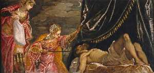 Jacopo Tintoretto - Judith and Holofernes