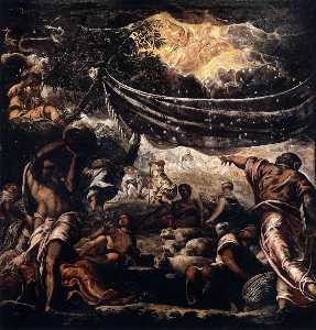 Jacopo Tintoretto - The Miracle of Manna