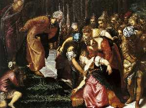 Jacopo Tintoretto - Esther before Ahasuerus