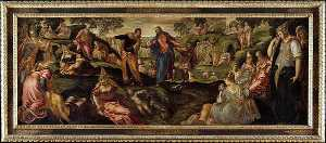 Jacopo Tintoretto - The Miracle of the Loaves and Fishes