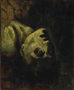 Jean-Louis André Théodore Géricault - English Head of a Drowned Man