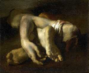 Jean-Louis André Théodore Géricault - English Study of Feet and Hands