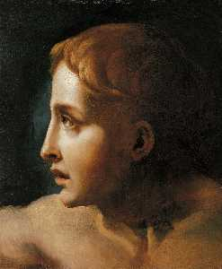 Jean-Louis André Théodore Géricault - Head of a Youth