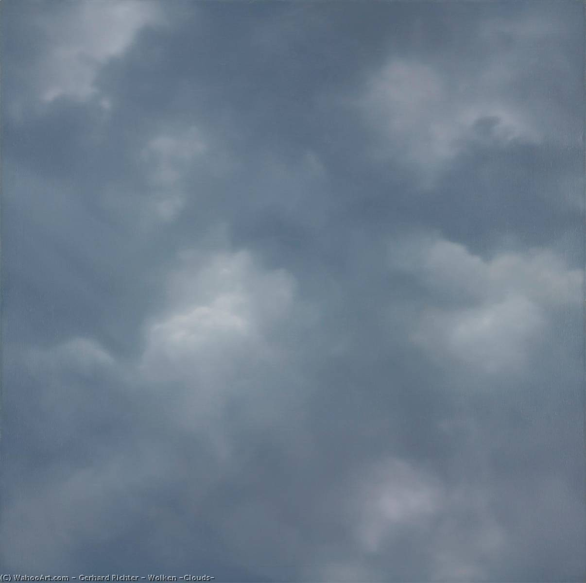 Wolken (Clouds), Oil On Canvas by Gerhard Richter