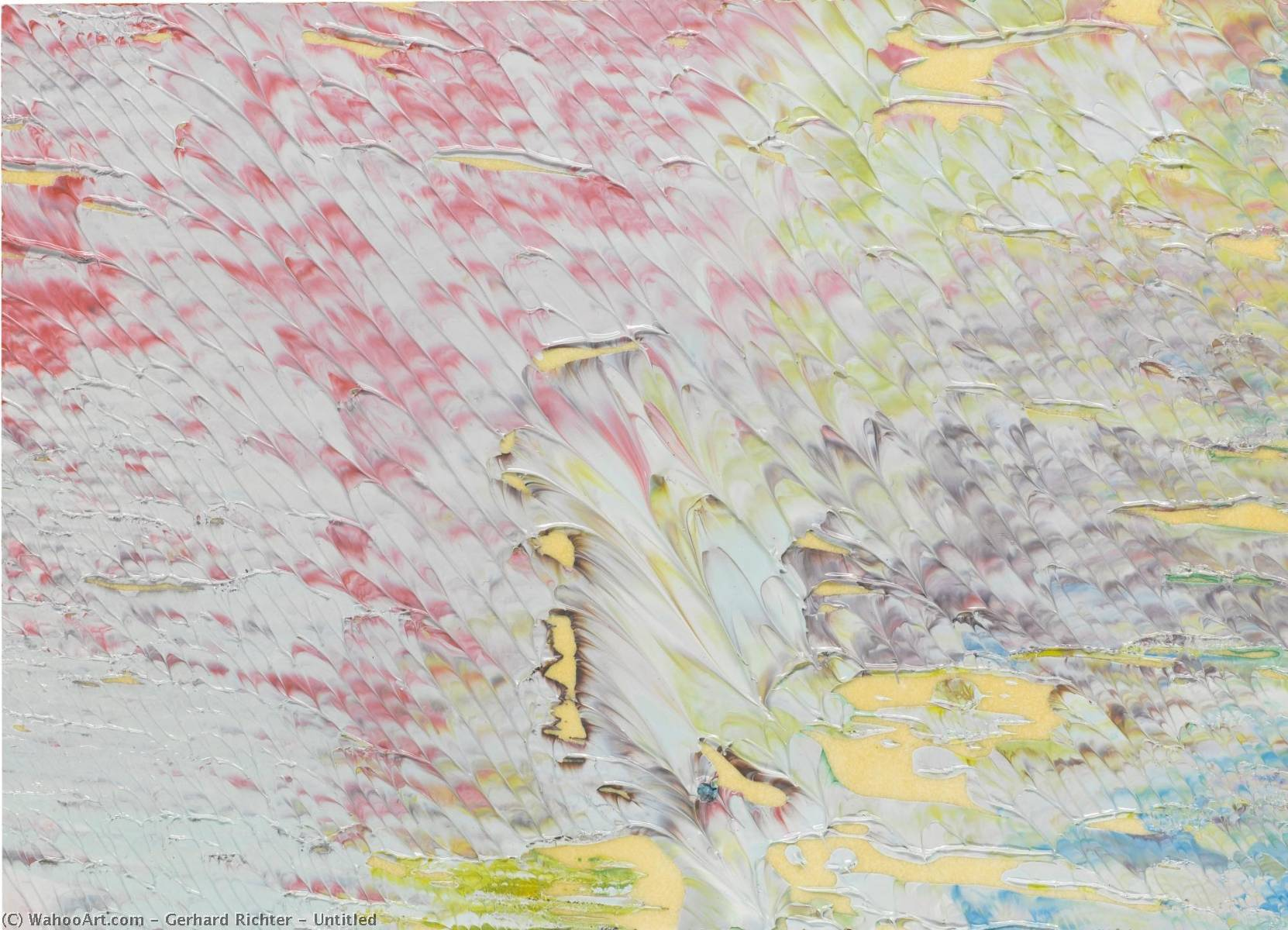 Untitled by Gerhard Richter | Art Reproduction | WahooArt.com