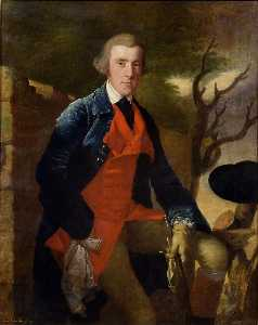 Joseph Wright Of Derby - Edward Becher Leacroft of Wirksworth