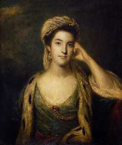 Joshua Reynolds - The Hon. Mrs John Barrington