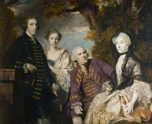 Joshua Reynolds - The Roffey Family
