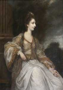 Joshua Reynolds - Lady Christian Henrietta Caroline 'Harriot' Acland, née Fox Strangways (1749 1750–1815)