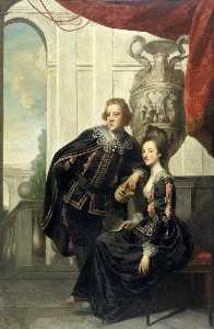 Joshua Reynolds - Sir Watkin Williams Wynn (1749–1789), and Lady Henrietta Williams Wynn (1748–1769)