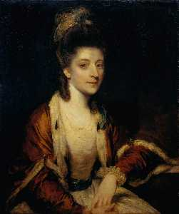 Joshua Reynolds - Harriet Dutens of Craigforth
