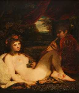 Joshua Reynolds - Nymph and Piping Boy