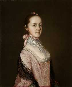 Thomas Gainsborough - Caroline, Mrs Nathaniel Acton